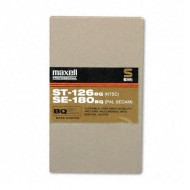 Maxell 126 Minute ST-126 VHS Tapes