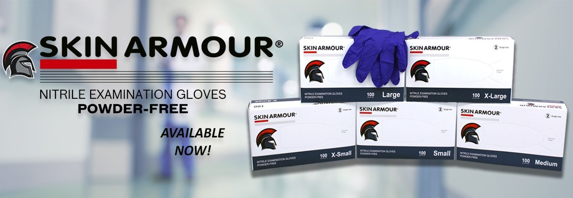 Available NOW! Skin Armour Gloves